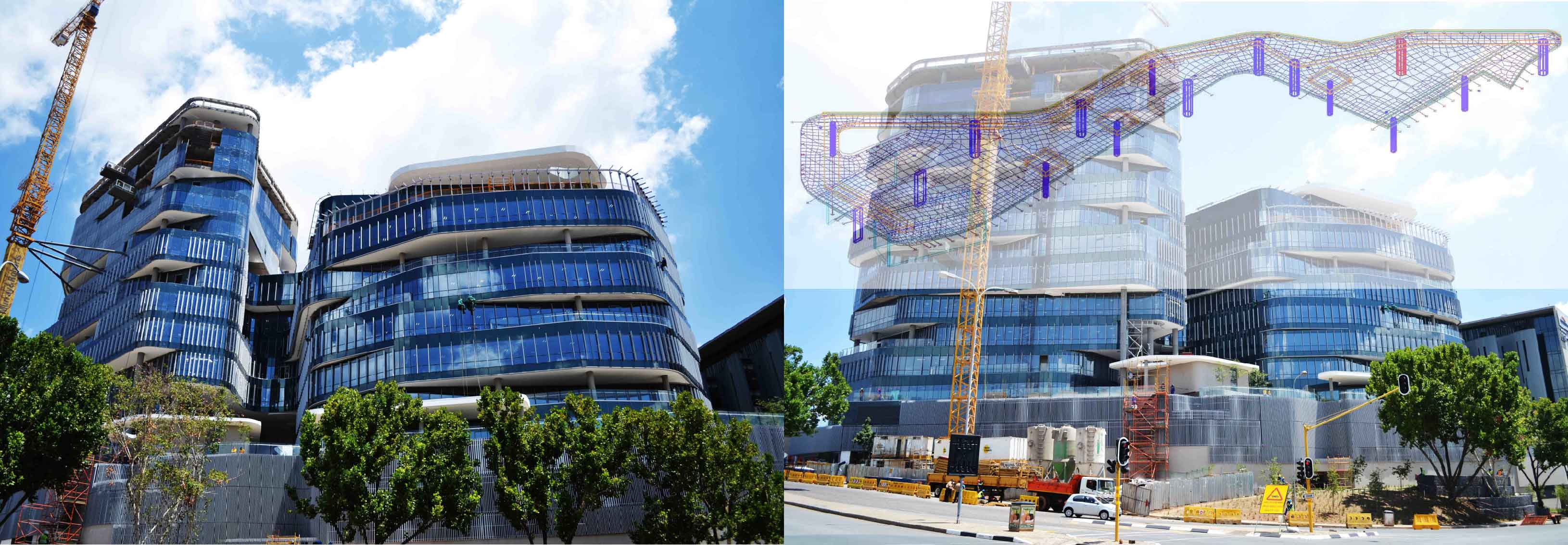Ernst & Young - Post Tensioned Structure